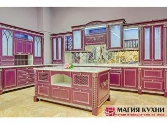 Красная стильная кухня Luxury - Мебельная фабрика «Магия кухни»