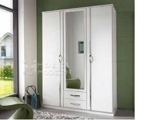 Белый шкаф Дуо  - Импортёр мебели «MÖBEL MODERN», г. Москва