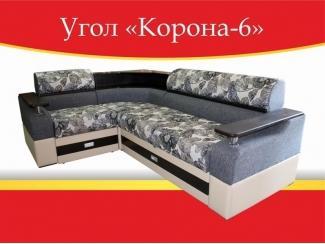 Угловой диван Корона-6 - Мебельная фабрика «Корона»