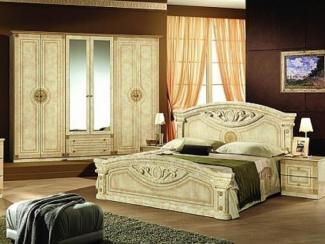 Спальный гарнитур «Рома беж» - Оптовый мебельный склад «Дина мебель»