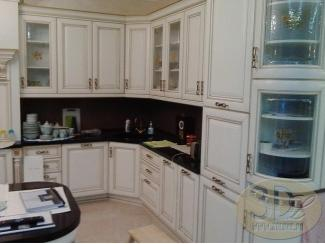 Белая угловая кухня - Изготовление мебели на заказ «3dluxe»