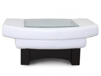Черно-белый журнальный стол Клеопатра  - Мебельная фабрика «MANZANO»