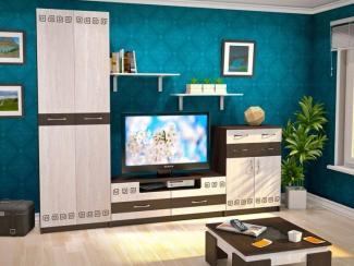 Модульная мебель для гостиной «КАЛИПСО» - Мебельная фабрика «Евромебель»