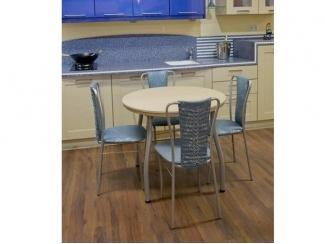 Круглый  стол радвижной из ЛДСП d900(370)мм - Мебельная фабрика «Sitparad»