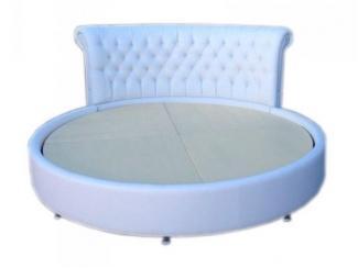 Круглая кровать Виктория - Мебельная фабрика «Камелот»