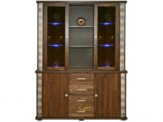 Шкаф комбинированный Тунис П 343.06Ш - Мебельная фабрика «Пинскдрев»