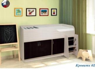 Детская кровать 02 - Мебельная фабрика «Грааль», г. Пенза