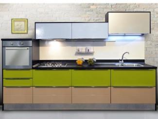 Кухонный гарнитур прямой Милана