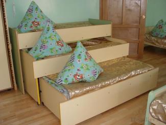 Кровать трехъярусная - Мебельная фабрика «12 стульев»