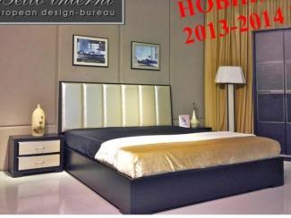 Кровать венге Jane Bianca - Импортёр мебели «Arredo Carisma (Австралия)»