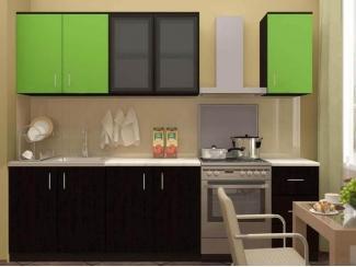 Кухонный гарнитур ЛДСП венге лайм - Мебельная фабрика «Вся Мебель»