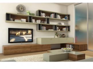 Гостиная стенка 002 - Мебельная фабрика «Mr.Doors»