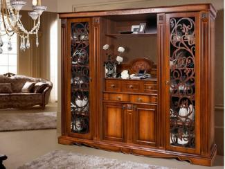 Шкаф комбинированный Амелия КМК 0435.1 - Мебельная фабрика «Калинковичский мебельный комбинат»