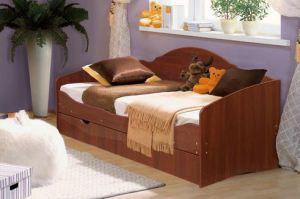 Кровать Софа 5 со спинкой - Мебельная фабрика «Аристократ»