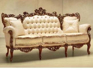 Светлый прямой диван в прихожую Fraforato - Импортёр мебели «Spazio Casa»