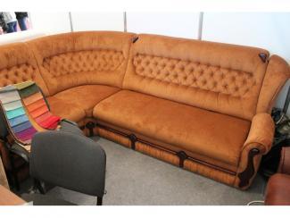 Мебельная выставка Сочи: диван угловой - Мебельная фабрика «Гротеск»