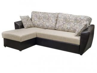 Черно-белый угловой диван Добро - Мебельная фабрика «Арбат»