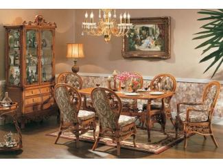 Мебель из ротанга для кух