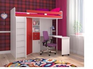 Кровать чердак Юниор 3 - Мебельная фабрика «Северная Двина»