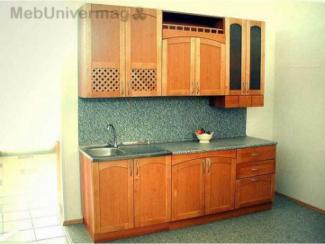 Кухонный гарнитур прямой 4002 - Мебельная фабрика «Мебель НН», г. Нижний Новгород