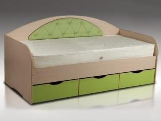 Кровать односпальная с выдвижными ящиками  - Мебельная фабрика «Восток-мебель»
