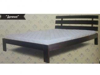 Деревянная кровать в спальню Домино  - Мебельная фабрика «Романов-мебель», г. Краснодар