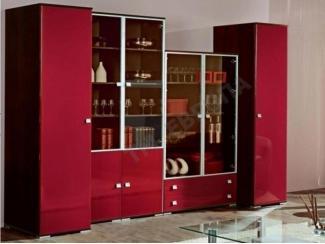 Гостиная стенка Ницца люкс - Мебельная фабрика «Европа»