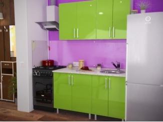 Кухня прямая Васаби - Мебельная фабрика «Евромебель»