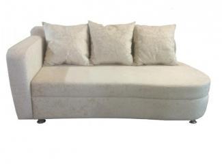 Светлый диван с одним подлокотником  - Мебельная фабрика «Гарни», г. Волгоград