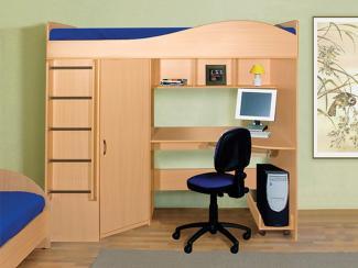 Кровать Чердачок - Мебельная фабрика «Виктория»
