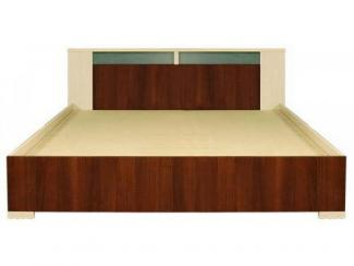 Кровать 2-сп. Квадро П181.06 - Мебельная фабрика «Пинскдрев»