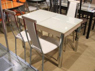 Мебельная выставка Москва: стол, стулья - Мебельная фабрика «Кубика», г. Самара