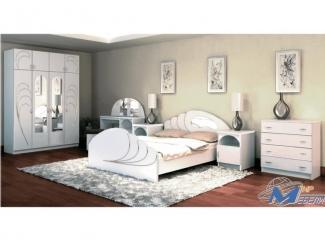 Спальный гарнитур Жемчуг 2 - Мебельная фабрика «Мир Мебели»