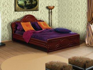 Кровать двуспальная Виктория - Мебельная фабрика «Аристократ»