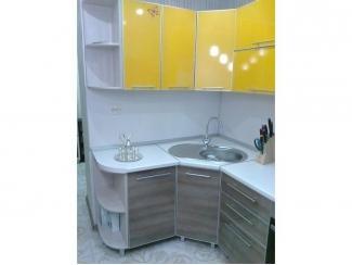 Кухня пластиковая в алюминиевом профиле  - Мебельная фабрика «KL58»