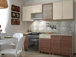 Кухонный гарнитур прямой Уют 2.4 - Изготовление мебели на заказ «Оптимум»