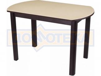 Стол с искусственным камнем Альфа ПО КМ (полуовальный) - Мебельная фабрика «Домотека»