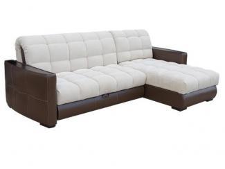Мягкий диван с оттоманкой Вегас - Мебельная фабрика «Асгард»