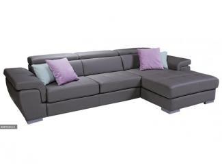 Темный комфортный диван Неаполь - Мебельная фабрика «Юнусов и К», г. Челябинск