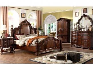 Спальный гарнитур CAROLINA - Импортёр мебели «Theodore Alexander»