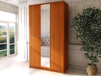 Шкаф распашной с зеркалом ШР 3  - Мебельная фабрика «Ваша мебель»