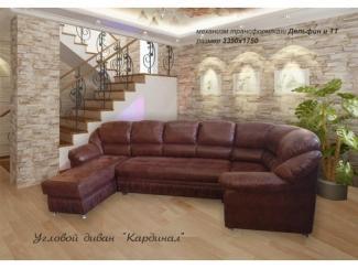 Диван Кардинал с оттоманкой - Мебельная фабрика «Вариант-М»