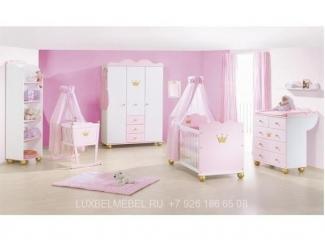 Детская для новорожденных из массива 1518 - Мебельная фабрика «ЛюксБелМебель»
