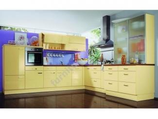 Светлая угловая кухня  - Изготовление мебели на заказ «Игал»