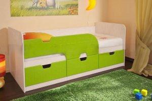 Детская кровать Минима лайм - Мебельная фабрика «СВК»