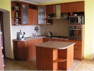 Угловая кухня с островом - Мебельная фабрика «Гарант-Мебель»
