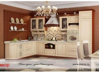 Кухня Соренто массив - Мебельная фабрика «Симкор»
