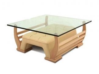 Стеклянный стол Леонардо  - Мебельная фабрика «Добрый стиль»