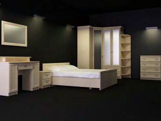 Спальный гарнитур Аккорд 1 - Мебельная фабрика «Антарес»