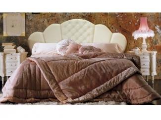Кровать в белом цвете Бэлла  - Мебельная фабрика «Стрэк-тайм»